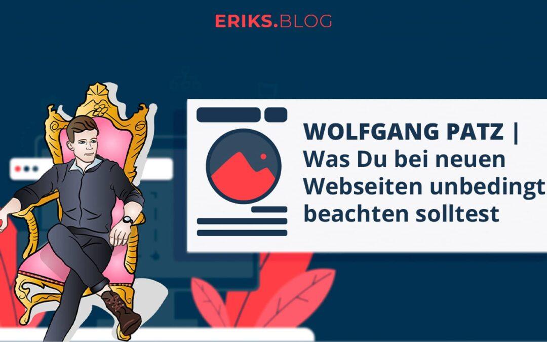 wolfgang patz webdesigner