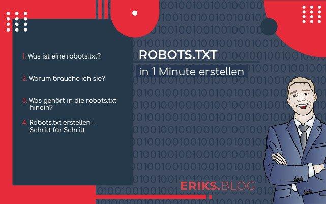 robots.txt in 1 Minute erstellen
